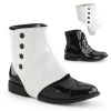 DAPPER-06 Black/White Patent